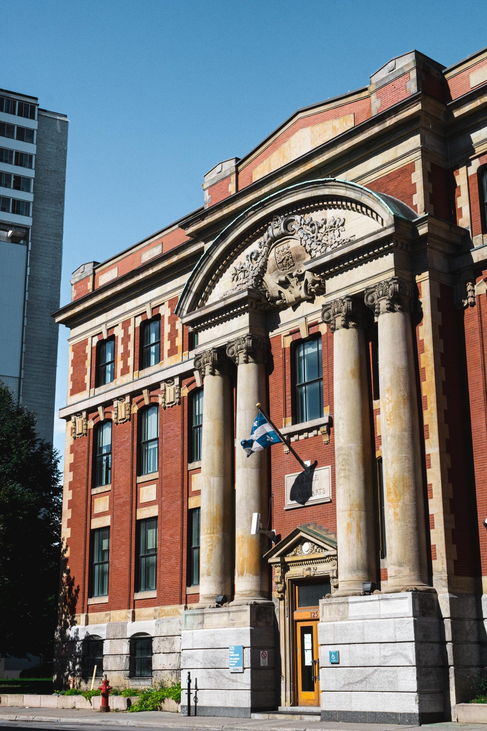 Restauration de l'école des beaux arts
